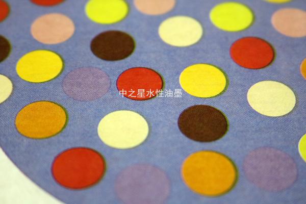 中之星水性油墨-薄膜印刷效果